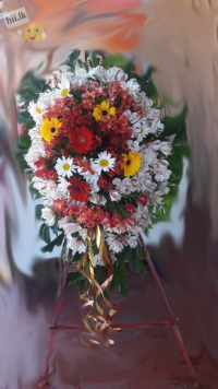 Funeral Wreath-B stand