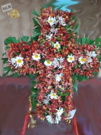 Funeral Wreath-Christian