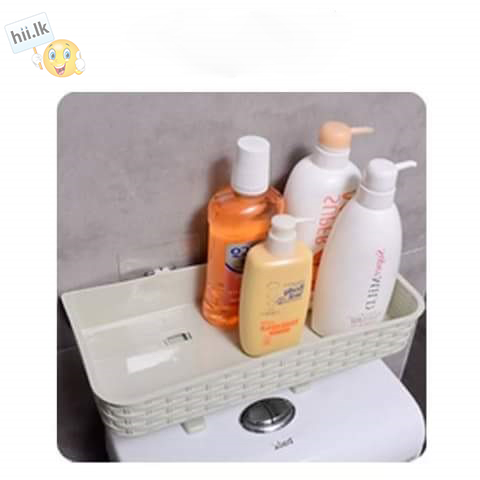 Toilet Wall Suction Storage Rack